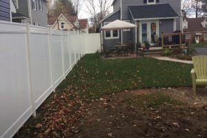 Glendale Fence vinyl privacy fence