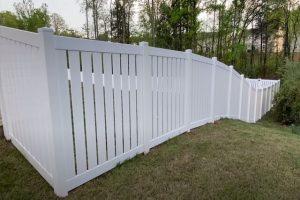 Glendale Fence Installation vinyl semi privacy fence