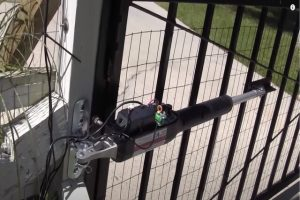 Glendale Fence Installations automatic gate opener